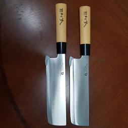 2-Knife Set DEBA Stainless Steel Sushi Chef Kitchen cook Cu