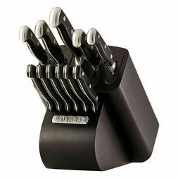 12-Piece Kitchen Knife Block Set Sharp Cooking Knives Cutler