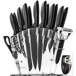 13-Piece Kitchen Cooking Knife Set Razor Sharp Knives Cutler