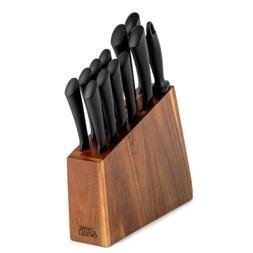 13 Piece Knife Set Kitchen Stainless Steel Cutlery Chef Stea
