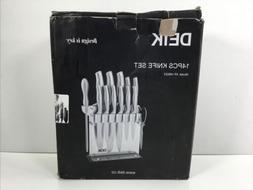 DEIK, 14-Piece Knife Set
