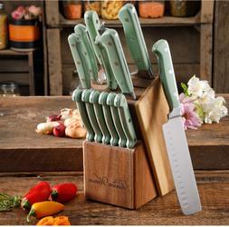 14 Piece Stainless Steel Kitchen Knife Set