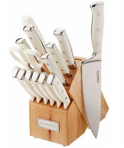 15-Piece Cuisinart Cutlery Triple Rivet Collection Kitchen K