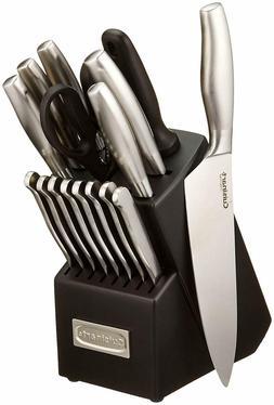 """Cuisinart"" 17 Piece Artiste Collection Cutlery Knife Block"