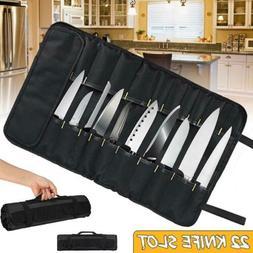 22 Pocket Portable Chef Cook Knife Roll Bag Cooking Storage