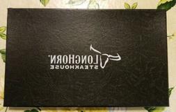 4 Longhorn Steakhouse Weighted Premium Steak Knife Set Kitch