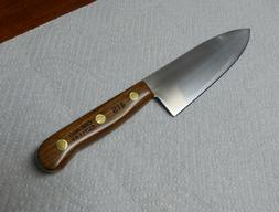 41s 6 chef knife finished walnut nos