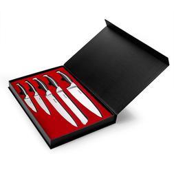 5 piece high carbon knife set w