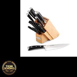 Farberware 5152472 15-Piece Triple Rivet Forged Knife Block