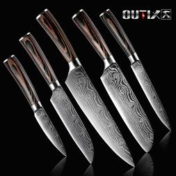 XITUO 5PCS Kitchen <font><b>Knife</b></font> <font><b>Set</b