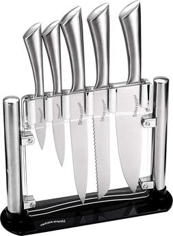 6 Piece Kitchen Knives Set Premium Stainless Steel Wholesale