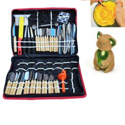 80pcs/set Vegetable Fruit Carving Chiseling Tool Kit For Kit