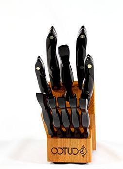 CUTCO Model 1945 Essentials +5 Set with Honey Oak Knife Bloc