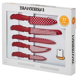Farberware 11 piece High-Carbon Stainless Steel Blades inclu