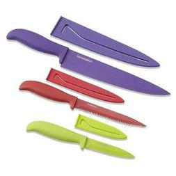 Farberware 5077243 Classic Color Kitchen Knife Set 6-Piece