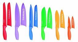 NEW Cuisinart Advantage 12-Piece Knife Set, Bright 6 knives