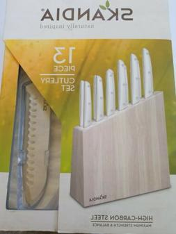 Skandia by Hampton Forge, Talvi 13 Piece Cutlery Block Set