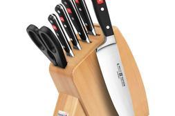 Wusthof Classic 7-piece Slim Knife Block Set
