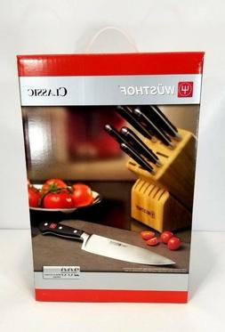 Wusthof Germany 7 Piece Classic Knife Block Set 7417  NEW