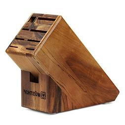 Wusthof Knife Block 9-slot Acacia