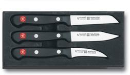 Wusthof Three Piece Paring Knife Set 9727