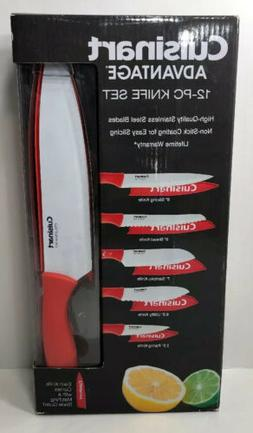 Cuisinart Advantage 12 PC Knife Set Non Stick Color Coating