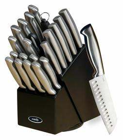 OSTER BALDWYN 22pc KITCHEN STAINLESS STEEL CUTLERY KNIFE KNI