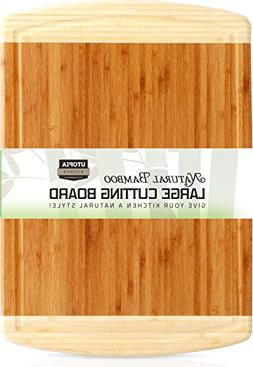 Utopia Kitchen Bamboo Cutting Board Large Bamboo Cutting Boa
