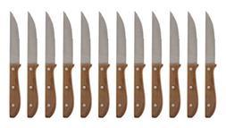 Chicago Cutlery Basics Walnut 12-Piece Steakhouse Knife Set