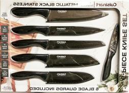 Cuisinart BLACK STAINLESS Classic Kitchen Knife Set, 6 Knive