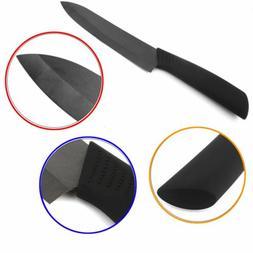 "Blk Blade Sharp Ceramic Knife Set Chef's Kitchen Knives 3"" 4"
