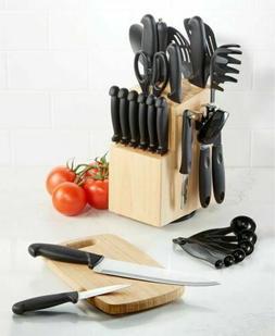 Brand New Martha Stewart Essentials 30 Piece Knife Cutlery S