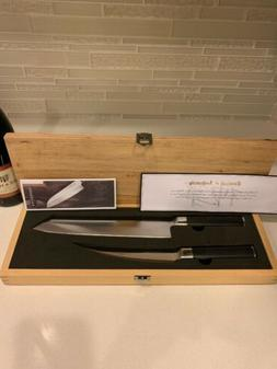 Brand New in Box Kamikoto Kensei Knife Set Certificate of Au
