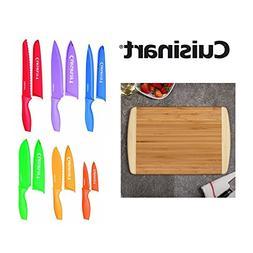 Cuisinart C55-01-12PCKS Advantage Colorful 12-Piece Knife Se
