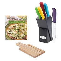 Cuisinart C59CE-C6P Ceramic Color 6-Piece Knife Set w/ Not Y