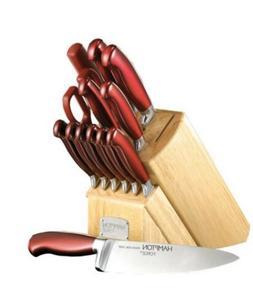 Hampton Forge High-Carbon Steel 14 Piece Cutlery Set
