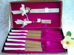 Cattaraugus Cutlery Set Knives & Carving w Case 8 pc Steak K