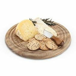 Cheese Board Set, Acacia Wood Cheese Cutting Boards Set With