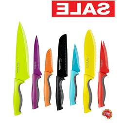 Colored Knife Set Sharp Kitchen Knives Carbon Stainless Stee