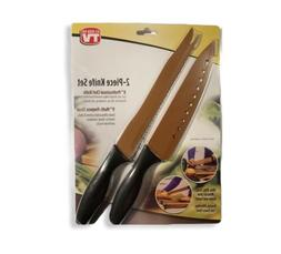 copper chef 2 piece knife set professional