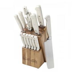 The Pioneer Woman Cowboy Rustic 14-Piece Linen Cutlery Set W