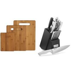 Cuisinart 15-Piece Stainless Steel Hollow Handle Block Set,