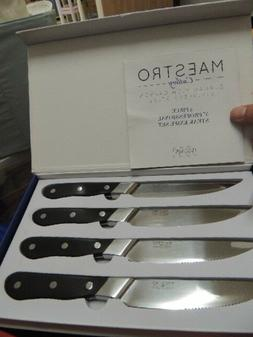 Maestro Cutlery German High Carbon 4 Pc Professional Steak K