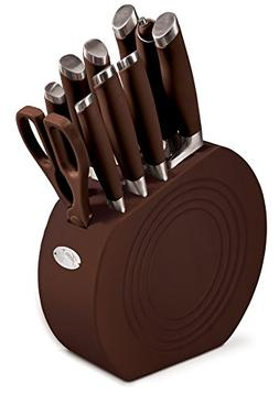 Fiesta 11 Piece Cutlery Set With Block, Chocolate