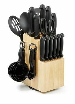 Martha Stewart Essentials 30 Piece Knife Cutlery Set - NEW I