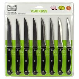 Chicago Cutlery 8pc Essentials Serrated Stainless Steel Stea