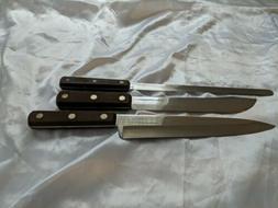 estate lot set of 3 knives knife