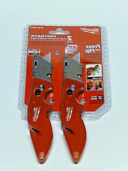 Milwaukee FASTBACK Knife  Utility Folding Pocket Razor Blade