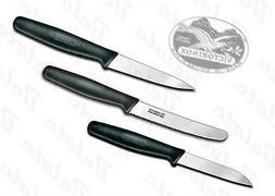 Victorinox Fibrox 3 Piece Paring, Peeling, & Utility Knife S