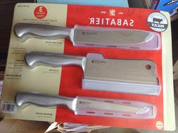 Sabatier Forged Stainless Steel Japanese Knife Set For Meat